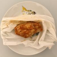 Papillote de poulet mariné vapeur - light
