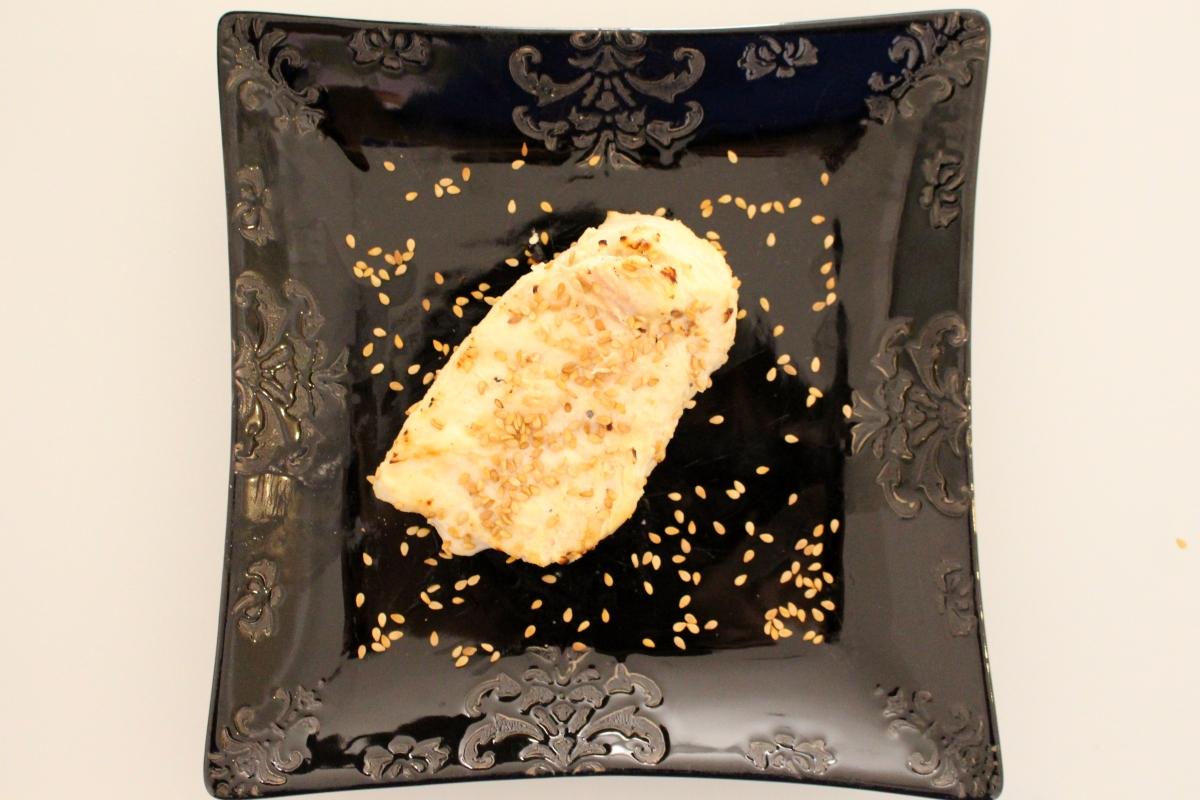 Filet de poulet mariné au tahin (sésame) - barbecue