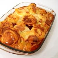Gratin de pommes de terre- cancoillotte façon tartiflette