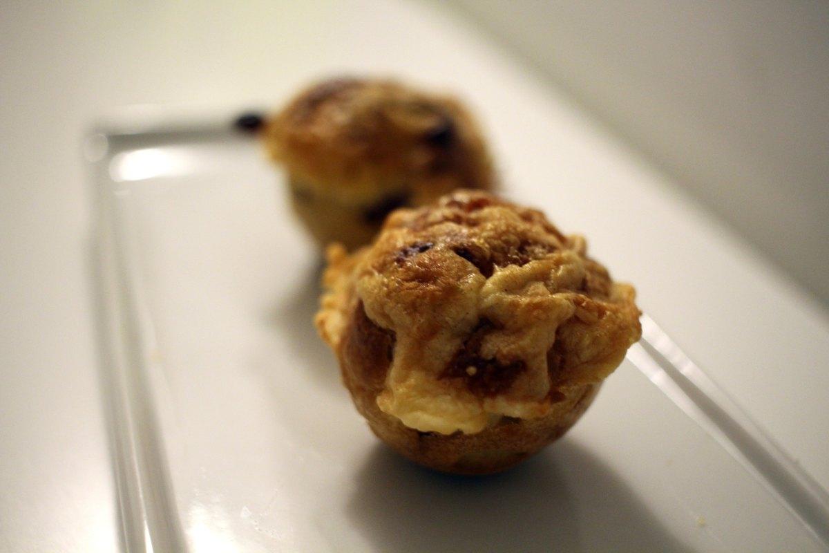 Mini cake viande des grisons et cantal