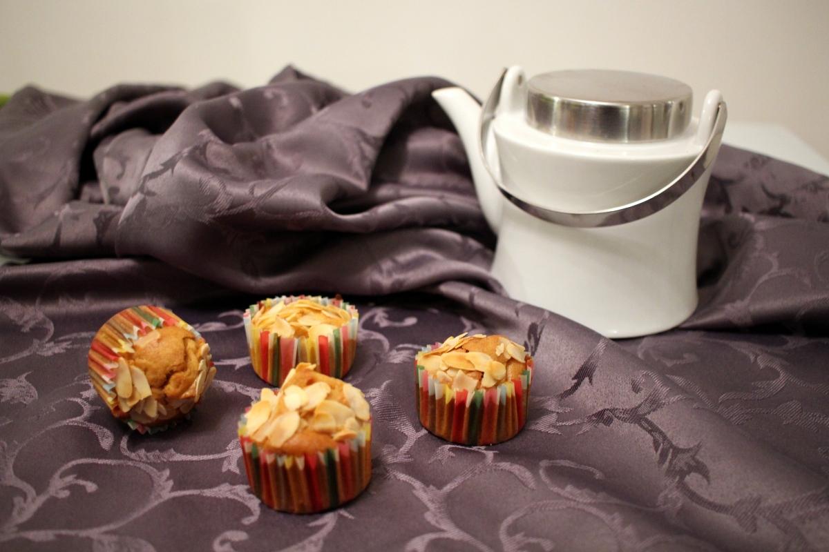 Muffins pommes caramélisées
