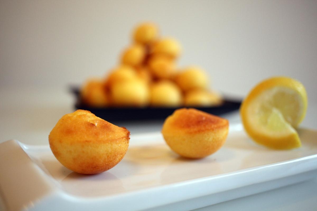 Mini moelleux au citron