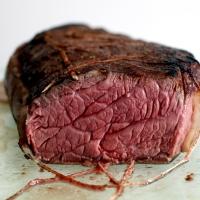 Rôti de boeuf en cuisson basse température