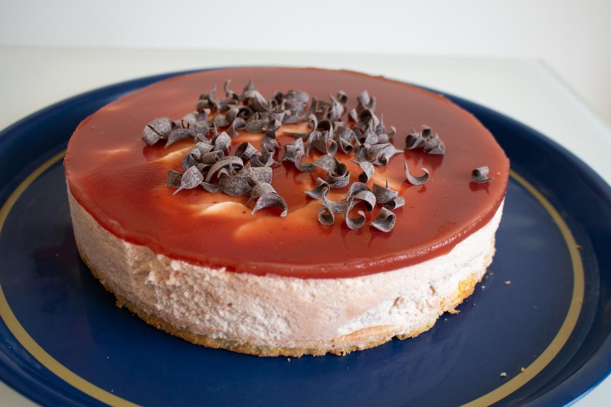 Bavarois fraise