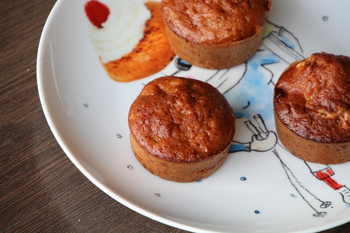 Muffins butternut cannelle