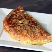 Omelette au chou kalé